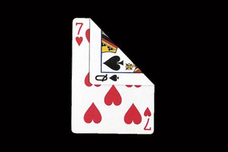 tour de magie carte double face