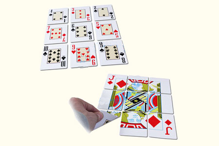tour de magie a 9 cartes