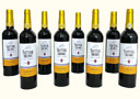 tour de magie : Yellow Wine Bottles (8 Bottles)