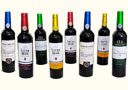 tour de magie : Colorful Wine Bottles (8 Bottles)