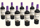 tour de magie : Purple Wine Bottles (8 Bottles)