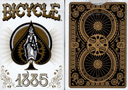 tour de magie : Bicycle 1885 Playing cards