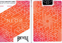 tour de magie : Baraja Bicycle Neon Cardistry (Orange Bump)