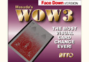 tour de magie : WOW 3 (face down)
