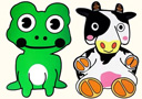 tour de magie : Cow and Frog (Small)