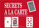 article de magie Secrets à la carte