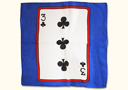 Flash Offer  : Card silk 12'' 3 of Clubs