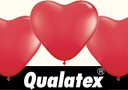 Ballons Qualatex coeurs Rouges