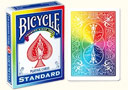 article de magie Jeu Bicycle Arc-en-ciel