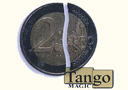Magik tricks : Folding Coin - 2 Euros (Traditional)