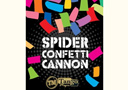 article de magie Spider Confetti Cannon