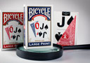 tour de magie : Jeu Bicycle Large Print