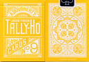 tour de magie : Reverse Yellow Fan TALLY-HO Deck