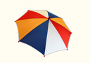 Parasol Production - Striped Color, 17 Inch