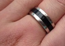 Vente Flash  : Bague aimantée Black (21 mm)