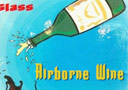 Airborne Wine Glass (bottle)