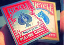 Bicycle card guard red