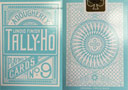 tour de magie : Reverse Blue Circle Back TALLY-HO Deck
