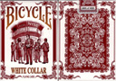 article de magie Jeu Bicycle White Collar