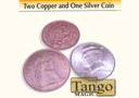 tour de magie : Two Copper and One Silver