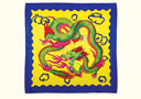 article de magie Foulard Dragon (30 x 30 cm)