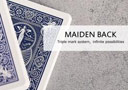 Bicycle Maiden Marked Deck