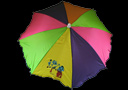 Multicolor appearing umbrella ECO - unit