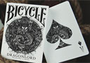 tour de magie : Jeu Bicycle Dragonlord (Blanc)