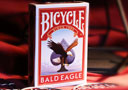 tour de magie : Bicycle Bald Eagle (With Numbered Seals)