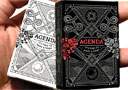 tour de magie : Mini Agenda Playing Cards (White)