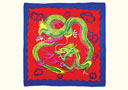 article de magie Foulard Dragon (90 x 90 cm)