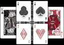 tour de magie : Fibs Playing Cards (White)