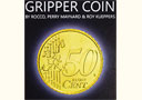 Magik tricks : Gripper Coin (Single/Euro)