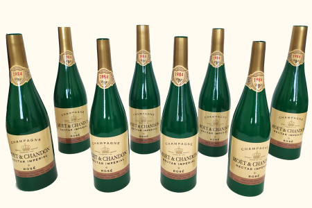 Multiplication de 8 bouteilles de Champagne - tora-magic