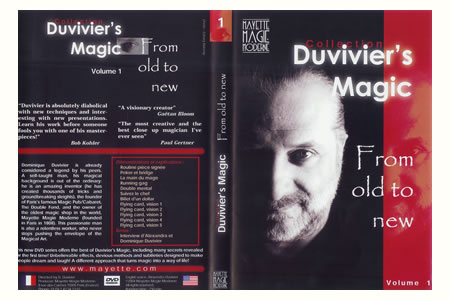 DVD From old to new (D.Duvivier) - dominique duvivier