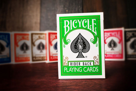 BICYCLE Deck Green back