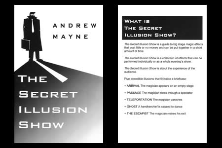 The secret illusion show - andrew mayne