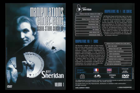 DVD Manipulation Cartes (Vol.1) - jeff sheridan