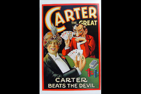 Poster Carter the great
