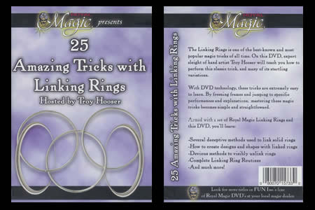 25 Amazing Tricks with Linking Rings - troy hooser