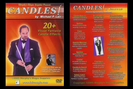 DVD Candles! (Michael P.Lair) - michael-p lair