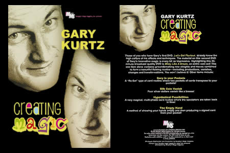 DVD Creating Magic - gary kurtz