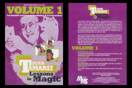Lessons in magic (Vol.1) - juan tamariz