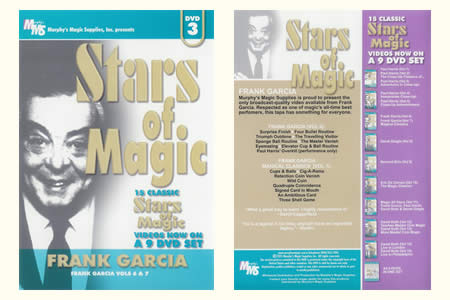 DVD Stars of Magic (Vol.3) - franck garcia