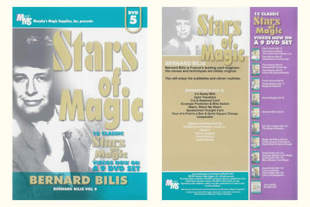DVD Stars of Magic (Vol.5) - bernard bilis