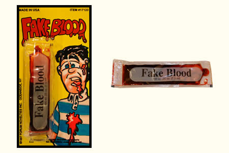 Thick Fake Blood