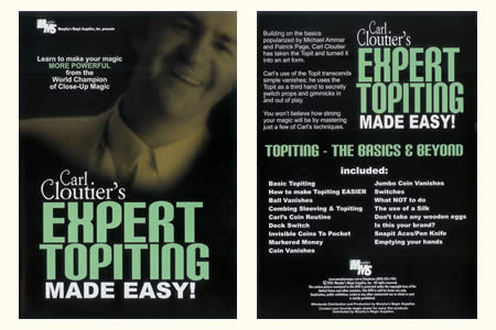 DVD Expert Topiting ... Made Easy ! - carl cloutier