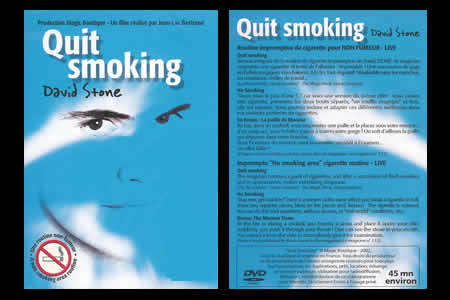 DVD Quit Smoking - david stone