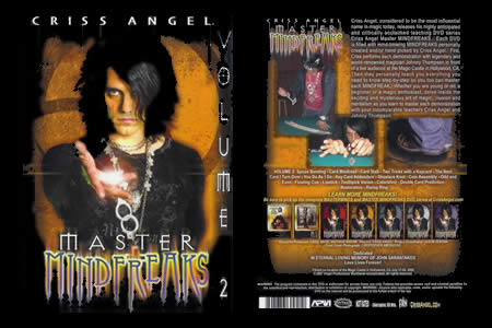 DVD Master Mindfreaks (Vol.2) - criss angel