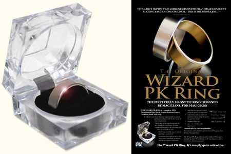 Wizard PK Ring - Plata (18 mm)